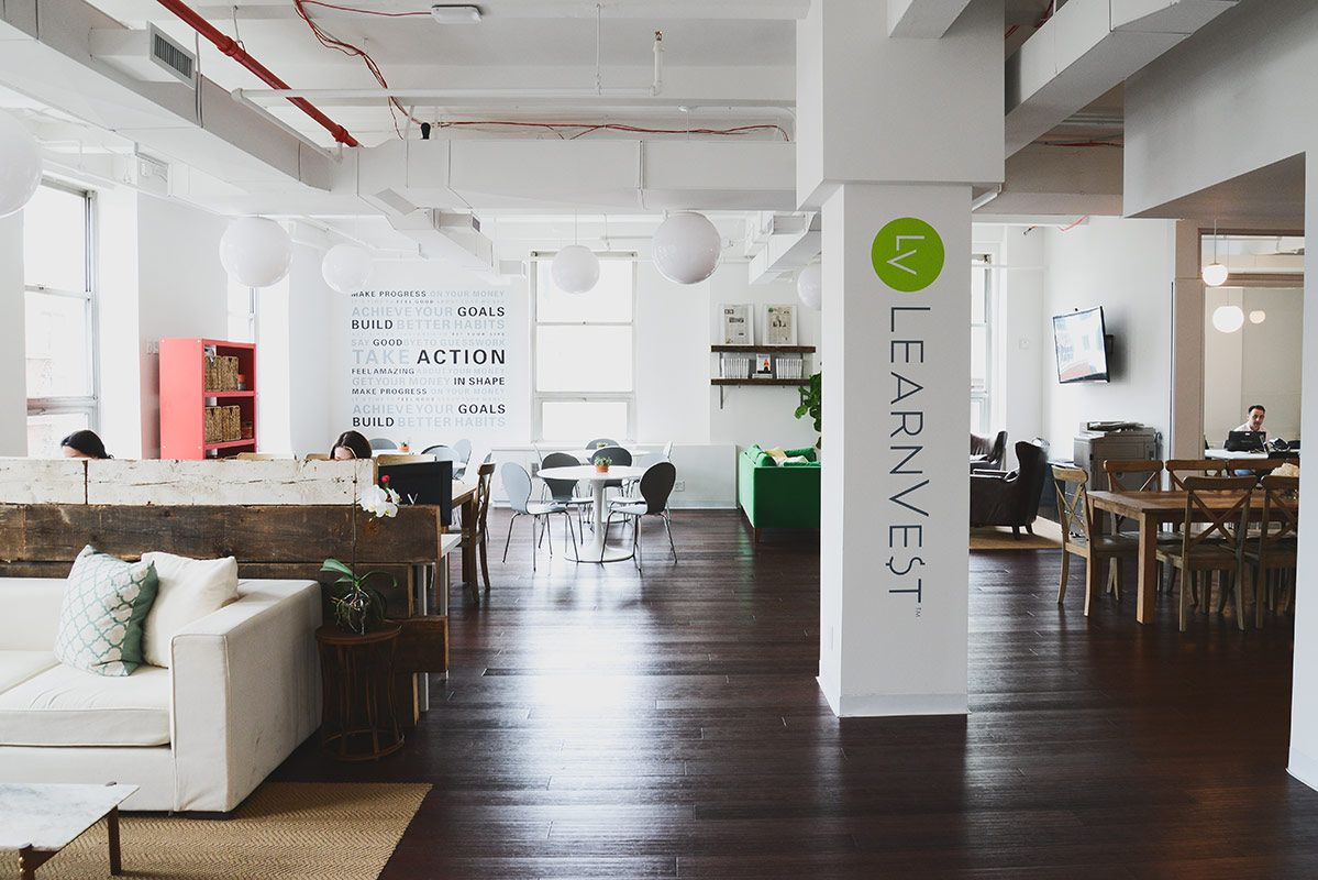 cool office spaces. Inside LearnVest\u0027s Cool NYC Headquarters - Officelovin Office Spaces