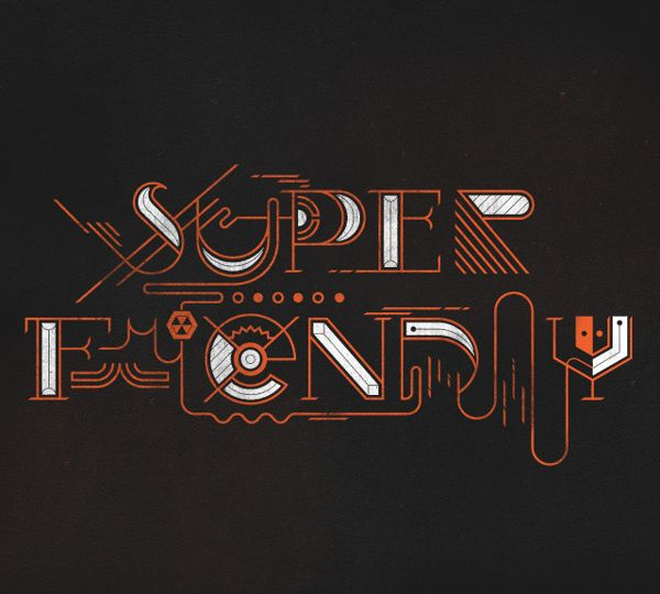 Superfriendly Typography by Jay Quercia, via Behance