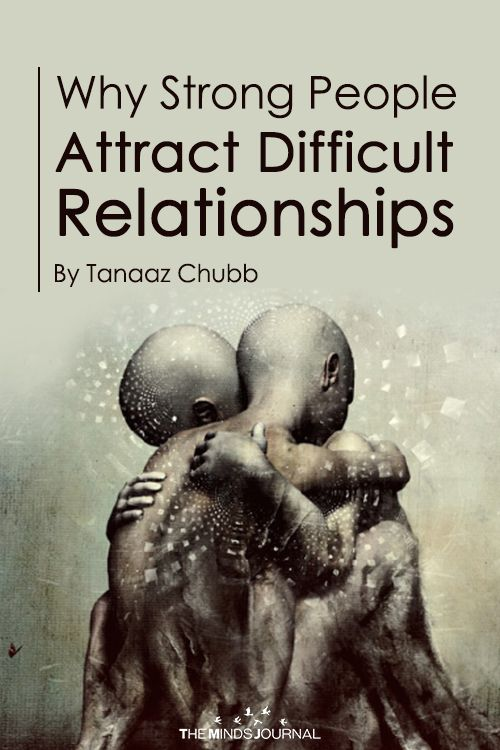 Why Strong People Attract Difficult Relationships #relationships
