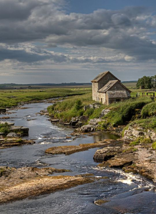 Old Mill, Thurso River, Halkirk, Caithness, Scotland by T J Morton