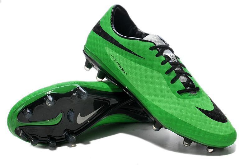 Cheap 2014 World Cup Nike Hypervenom Phantom FG Green Black  63.99 ... ad4b0d422243