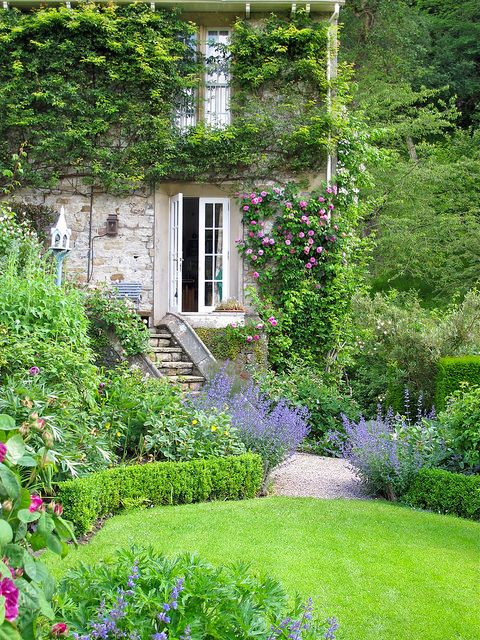 Gresgarth Hall - ✳   #Home  #Landscape #Design via Christina Khandan, Irvine California ༺ ℭƘ ༻   IrvineHomeBlog
