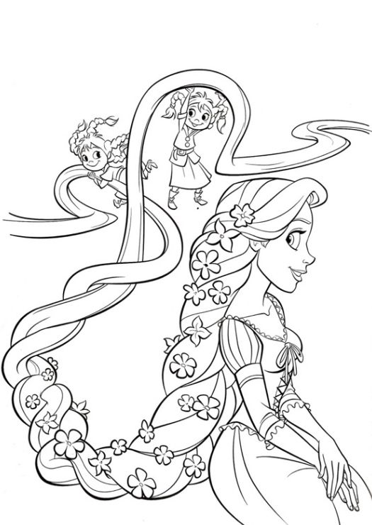 Ausmalbilder Fur Kinder Rapunzel 25 Tangled Coloring Pages Halloween Coloring Pages Princess Coloring Pages