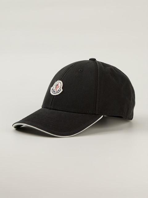 Moncler Classic Baseball Cap - Giulio Boutique - Farfetch.com ... 92eb116d5