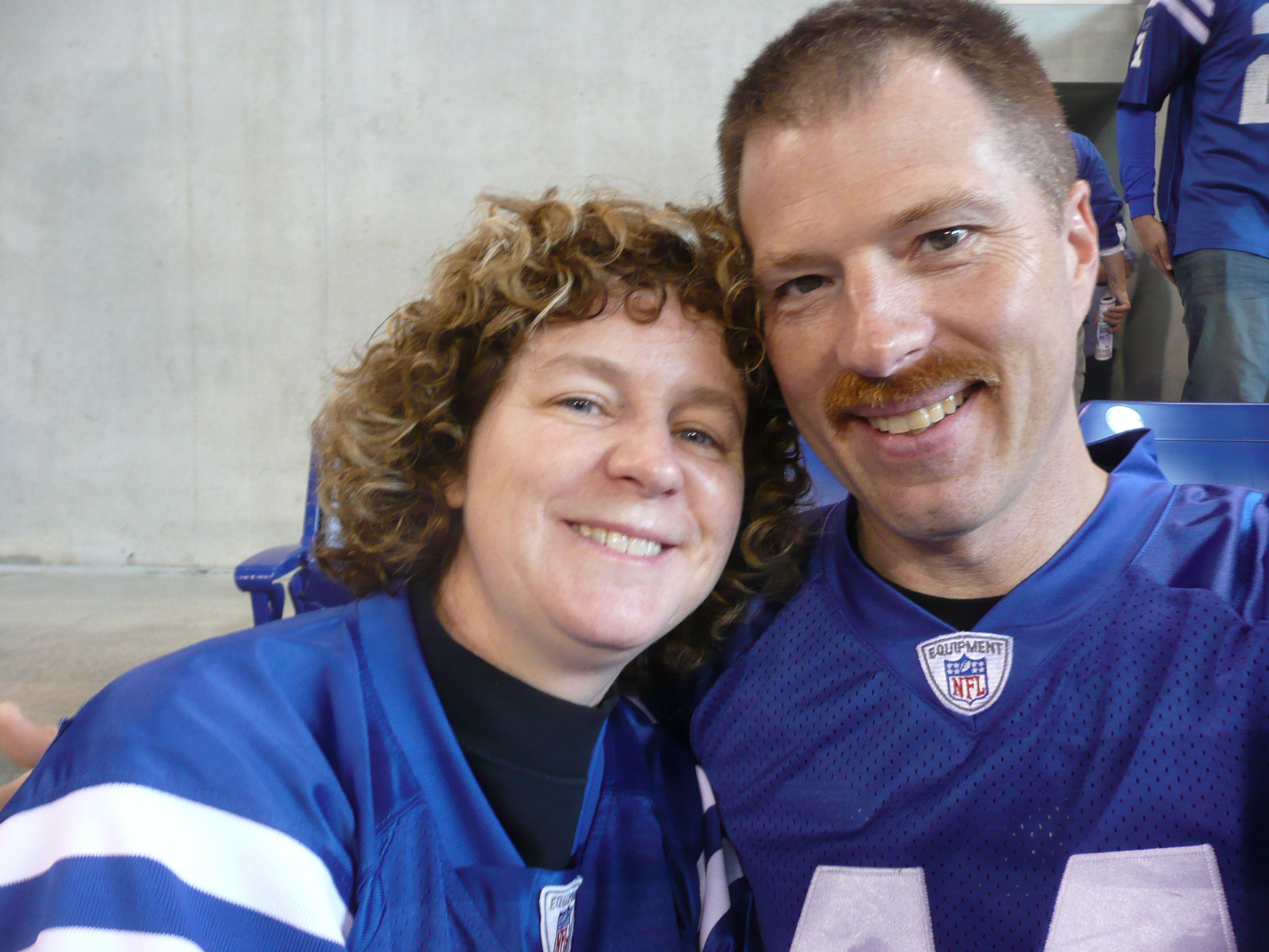 colts and my sweetie....one of my favorite days ever :-)