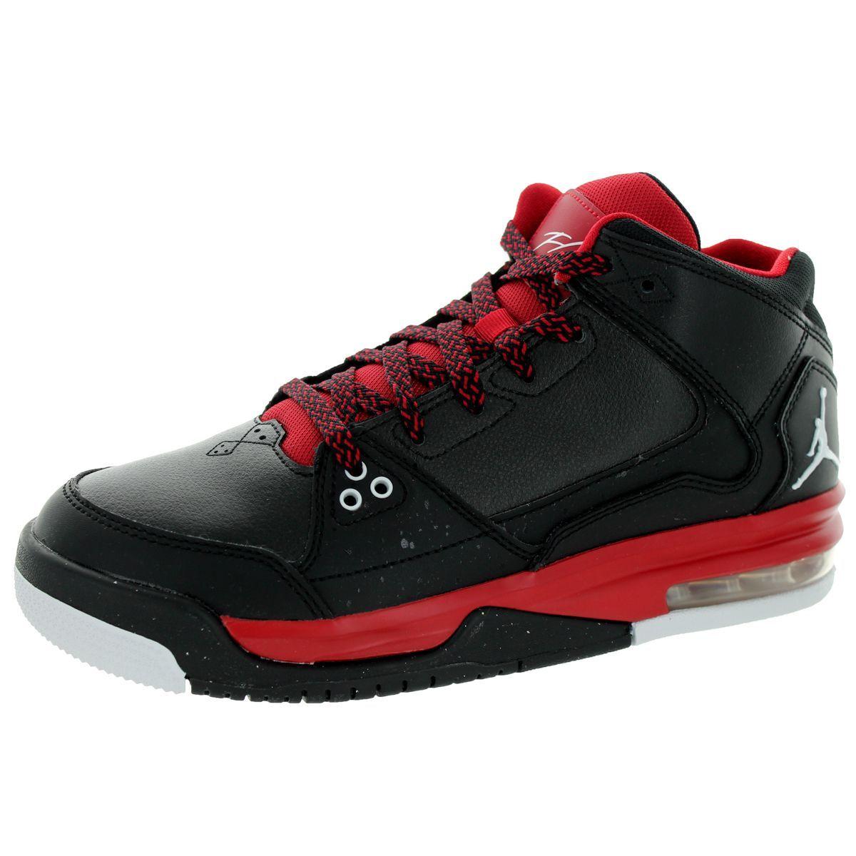 5f9798d763d485 Nike Jordan Kid s Jordan Flight Origin Bg  White Gym Red Basketball Shoe