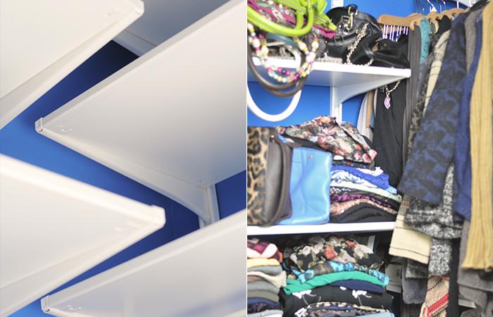 Walk In Closet Reorganization