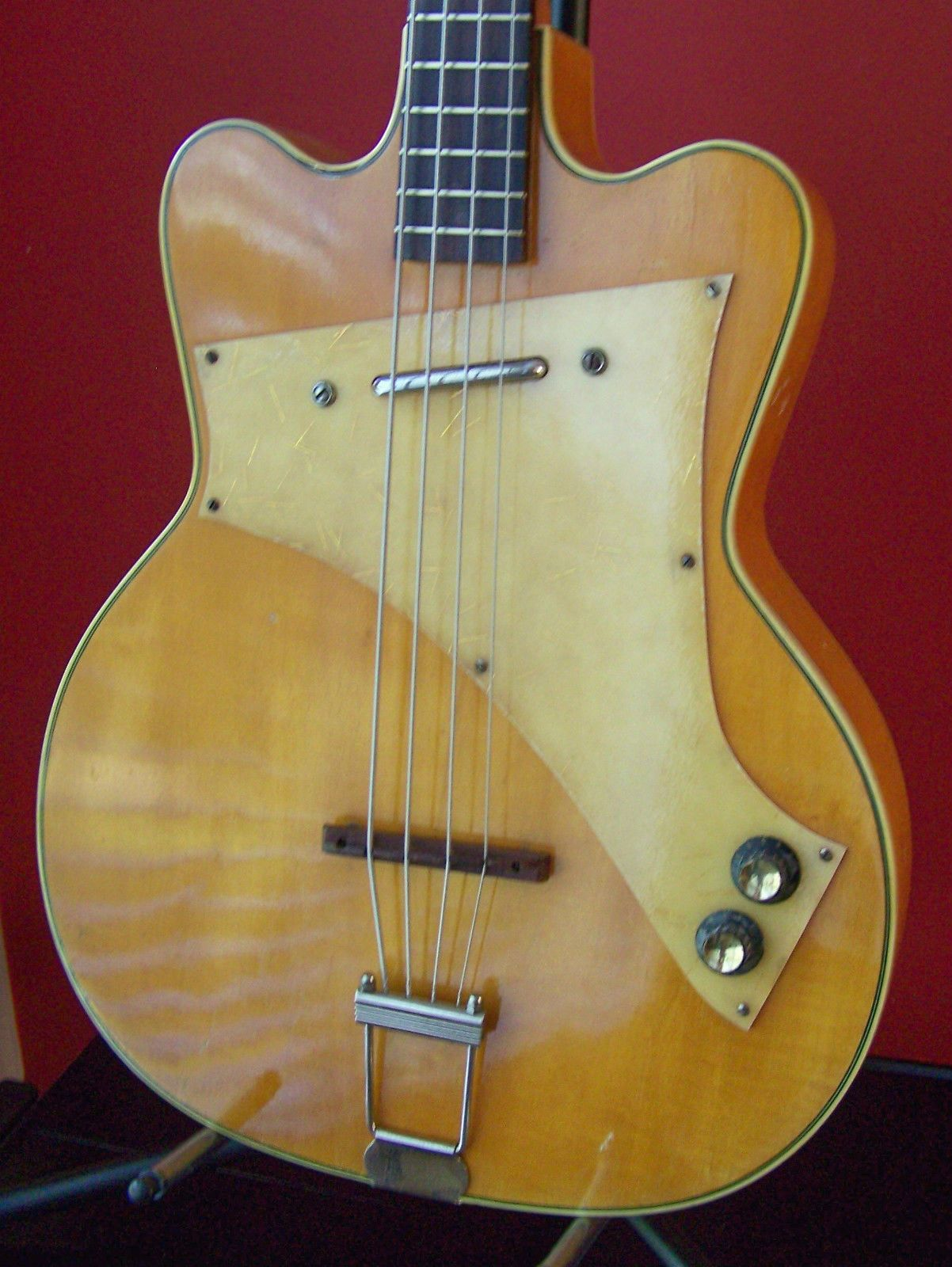 Rare 50 S Vintage Kay Jazz Special Electric Bass Guitar Ebay Bass Guitar Electric Bass Jazz Guitar