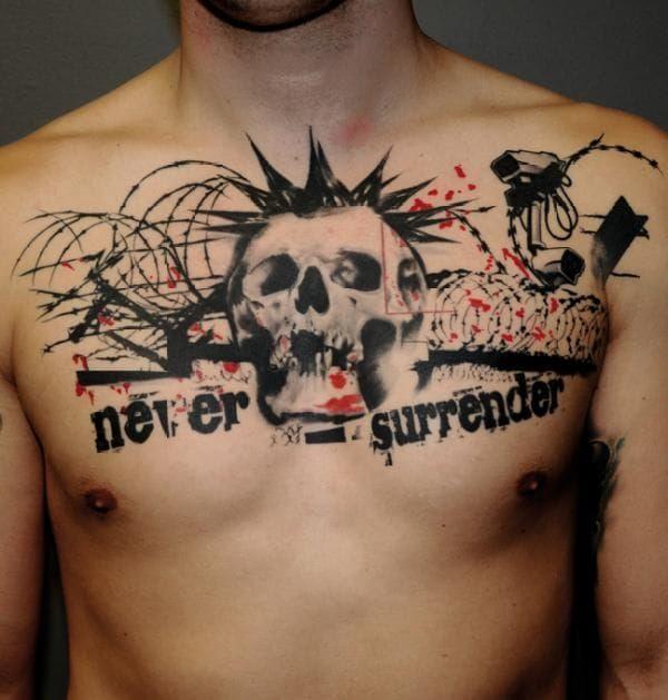 15 Badass Punk Rock Tattoos Punk Tattoo Rock Tattoo Tattoos