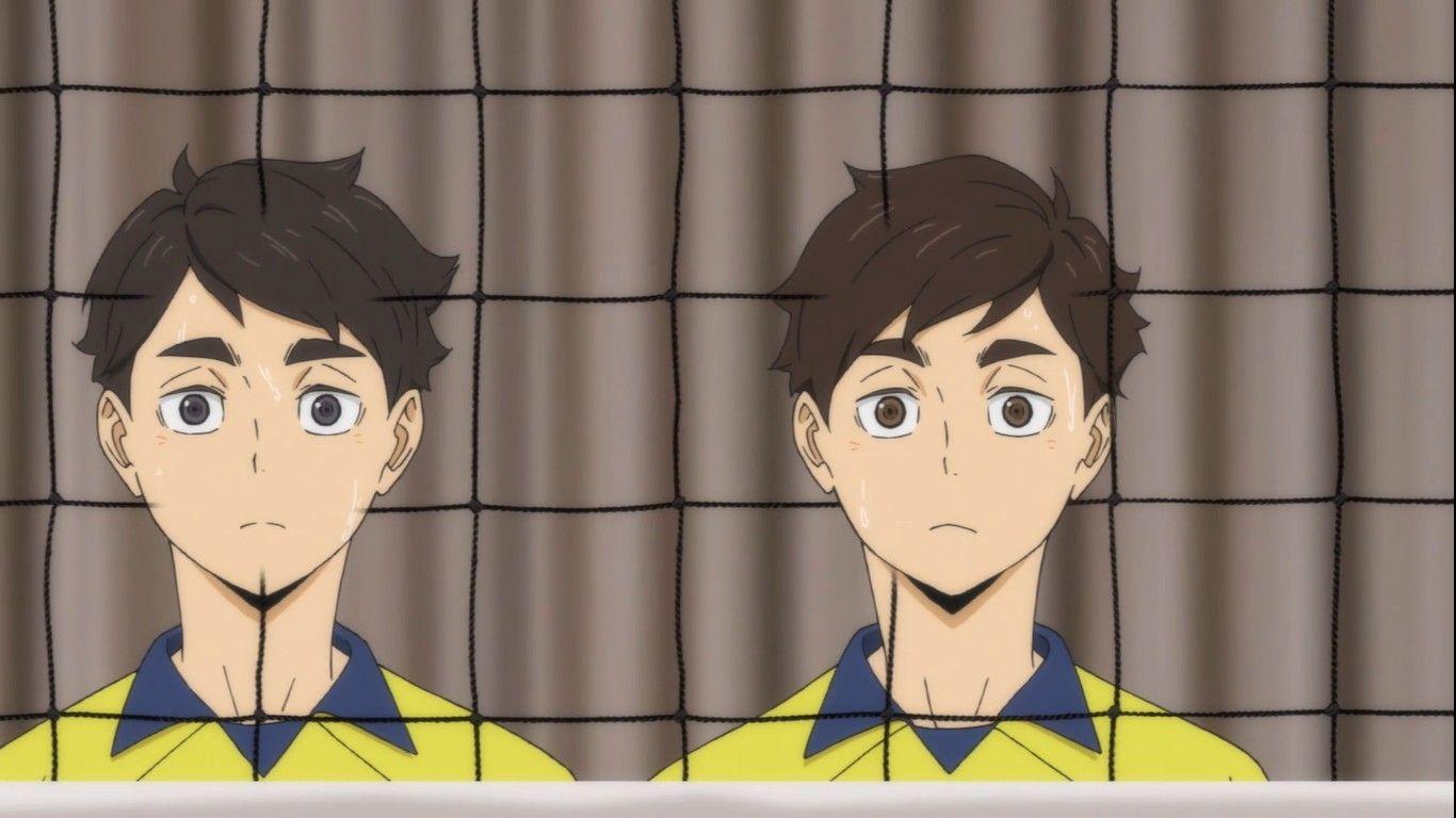 Miya Twins Childhood Haikyuu Anime Haikyuu Haikyuu Fanart