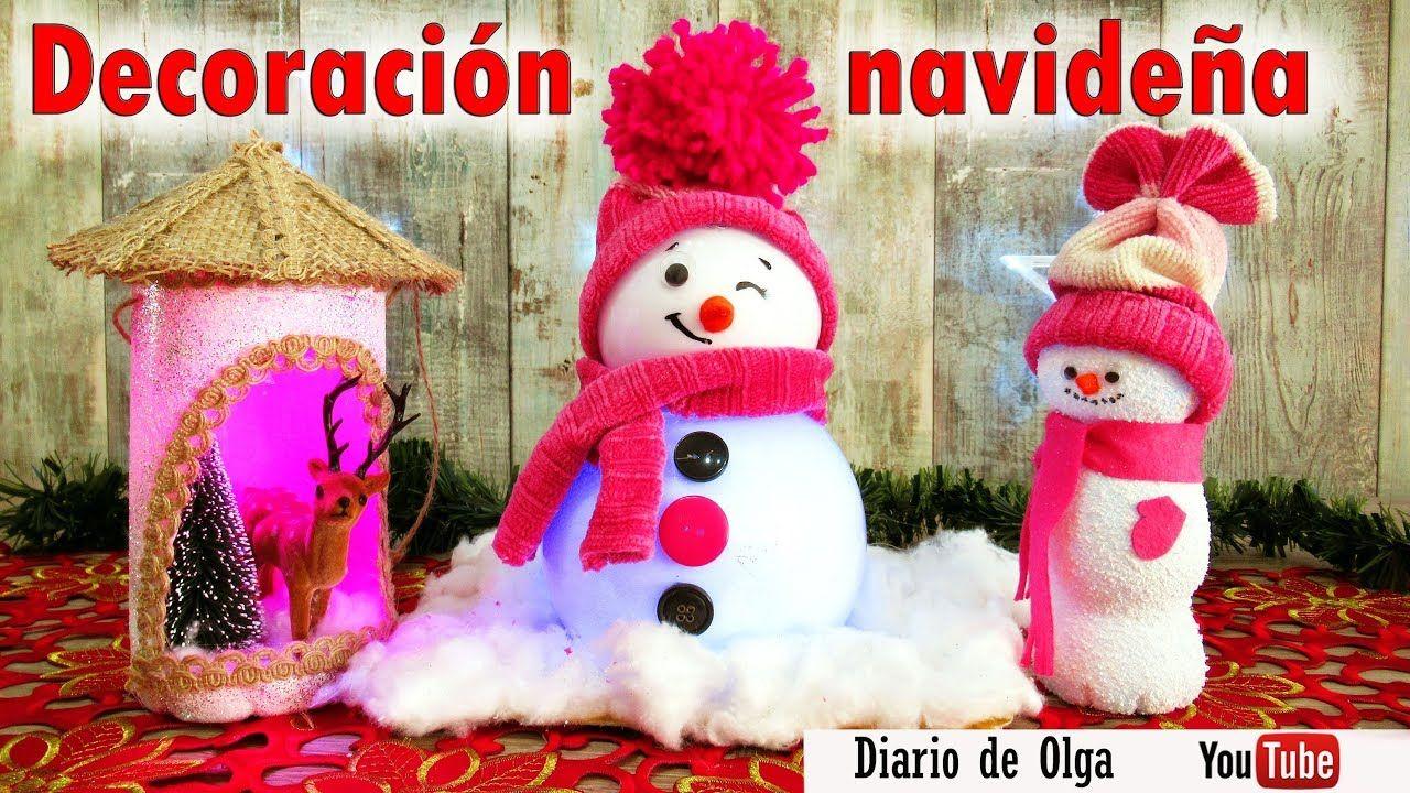 adornos navideños faciles de hacer y economicos 3 Manualidades Para Navidad Fciles Y Econmicas Reciclando