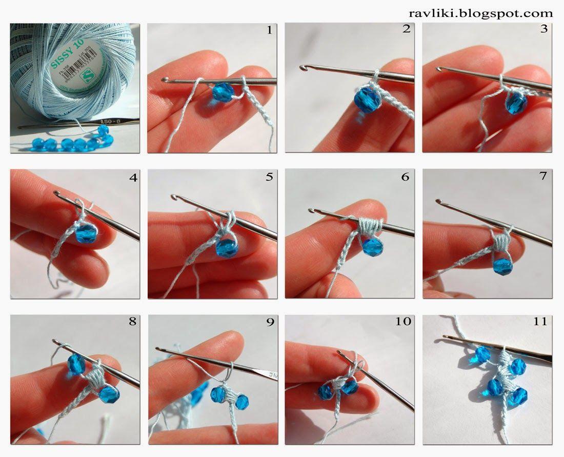 Pulsera de crochet para princesas | crochet | Pinterest | Pulseras ...