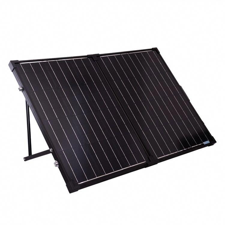 Petite Renogy 100w 12v Monocrystalline Foldable Solar Suitcase Without Controller Renogy 100w 12v Solar In 2020 Solar Panels Portable Solar Panels Solar Power Panels