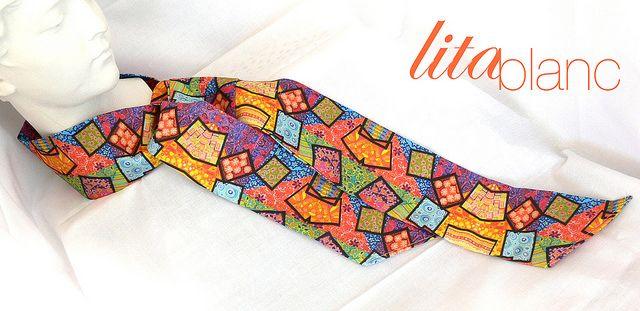 Ceinture + Cravate + Foulard by Lita Blanc, via Flickr