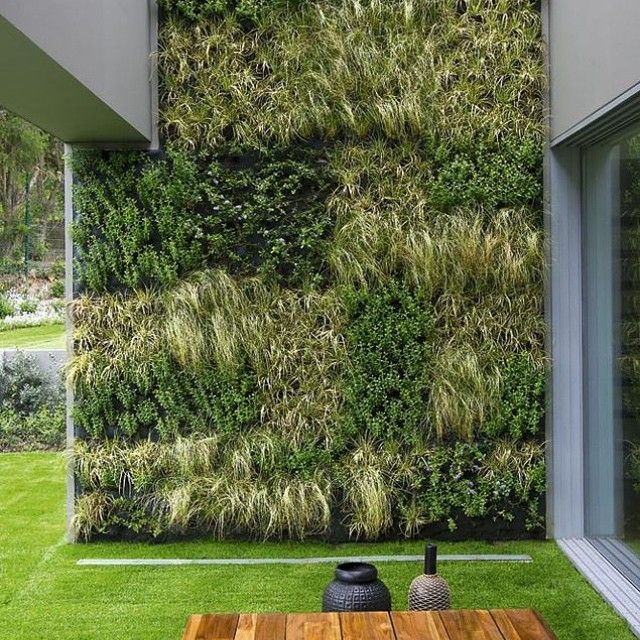 Smallspace Living: A Living Green Wall Or Standard