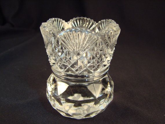 Eapg Toothpick Holder Fans And Diamonds Pattern Antique A Few Of My Favourite Things Diamond