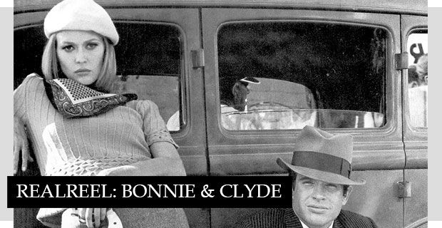 Starring Faye Dunaway and Warren Beatty as partners in crime, Bonnie & Clyde is a classic film with classic costumes. For a modern take on the looks seen in the film, pair a fitted knit with a sleek pencil skirt and trench coat. For accessories, don't miss Bonnie's beret and colorful neck scarves.