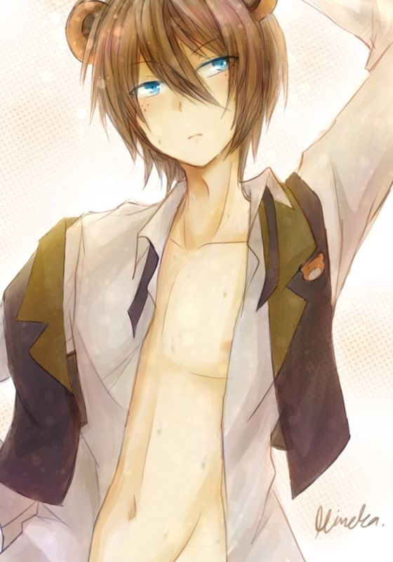open rp ) freddy: Hello~ * looks at you * | */fnaf roleplay {human