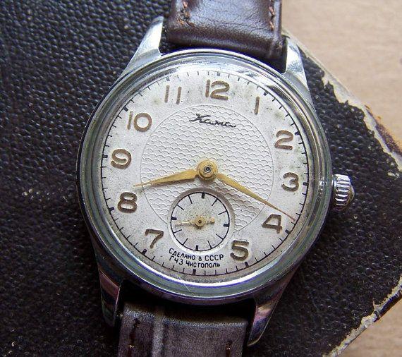 Soviet Watch Kama Russian Men Mechanical by RarityFromAfar on Etsy, $42.50