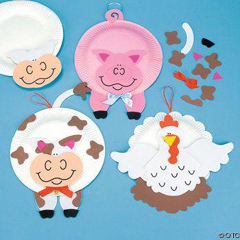 Animales en plato
