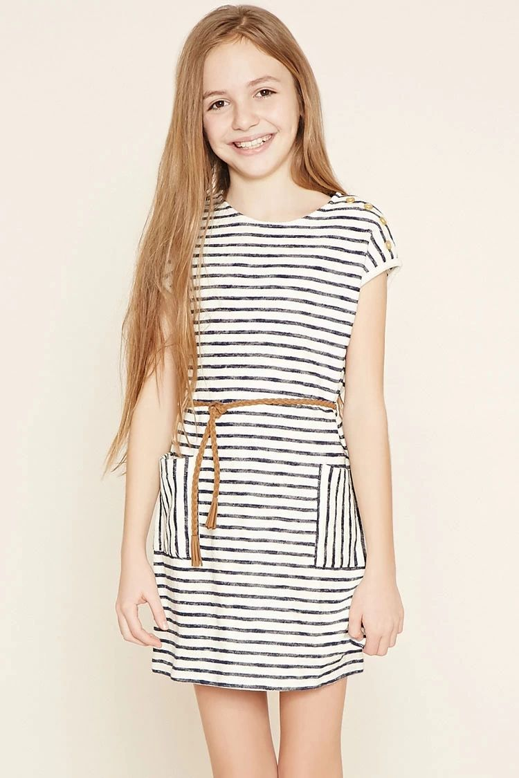 Girls Striped Dress (Kids) #f21kids | forever21 | girls ...