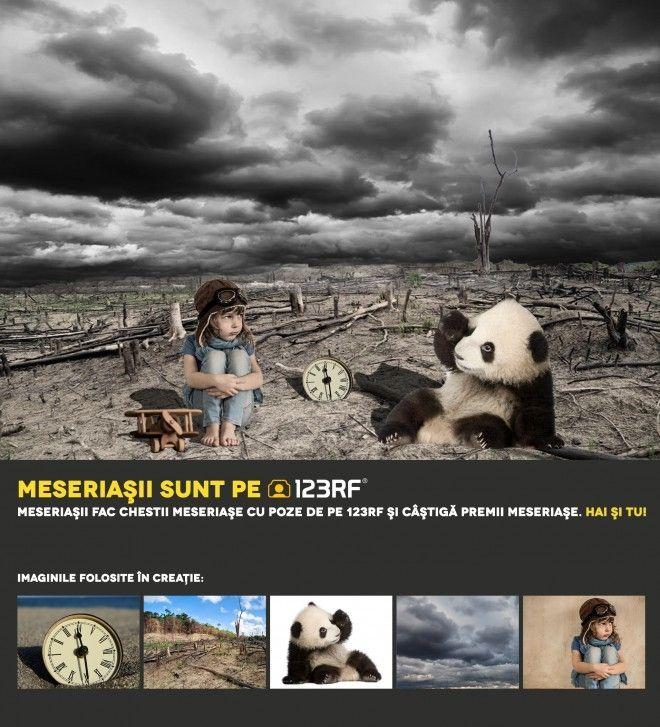 """Sad pandas"" by Zambila Catalin. Meseriasii sunt pe 123RF!"