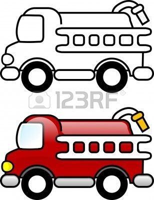 Fire Truck Clipart Fire Truck Clip Art Kids Carros Para
