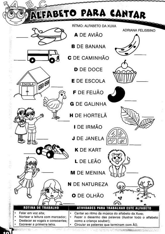 Suficiente ESCOLA DOMINICAL INFANTIL: Atividades de Alfabetização ou 1o ano  EL18