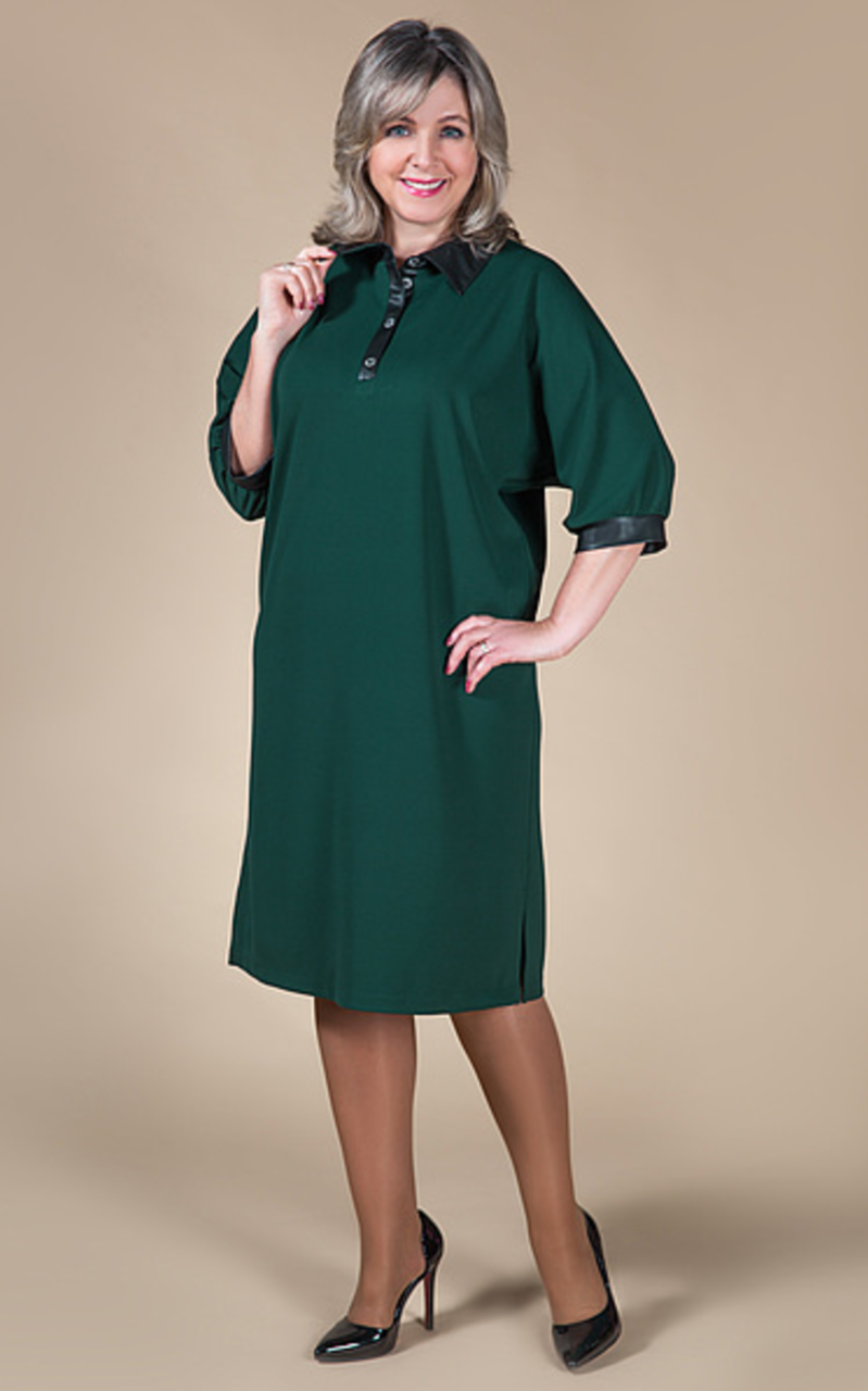 9dbabe60aa6 фасоны платьев после 50 для полных женщин