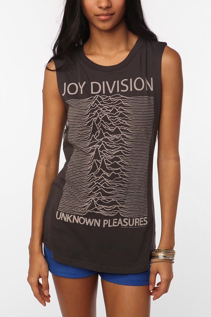 82836f36 Hometown Heroes Joy Division Muscle Tee #UrbanOutfitters   My style ...