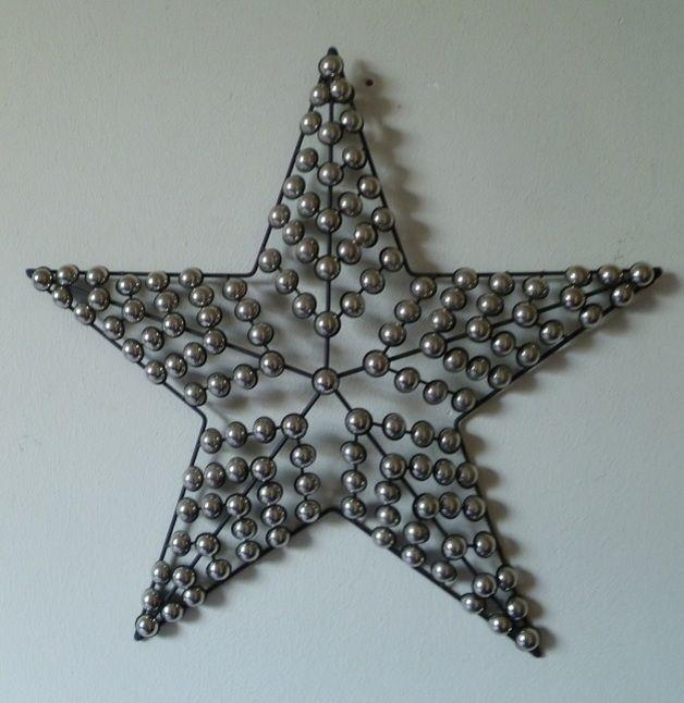 Popular wanddeko metall abstarkt star