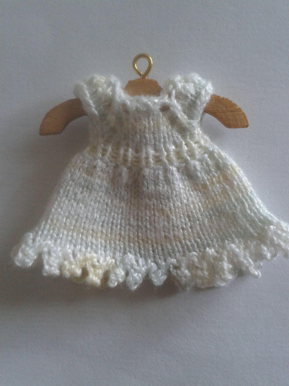 Pdf - Top-down Miniature 1/12th Scale Baby Dress Knitting Pattern ...