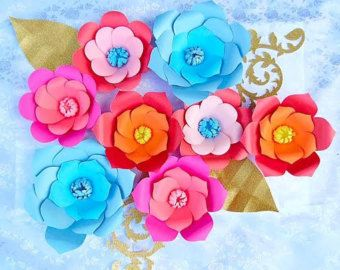 Giant paper flower patterns tutorial diy paper flower templates giant paper flower patterns tutorial diy por catchingcolorflies mightylinksfo Image collections