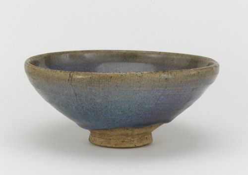 Jun Ware Bowl Made In China Late 13th Late 14th Century Ceramics Pottery Ceramic Clay