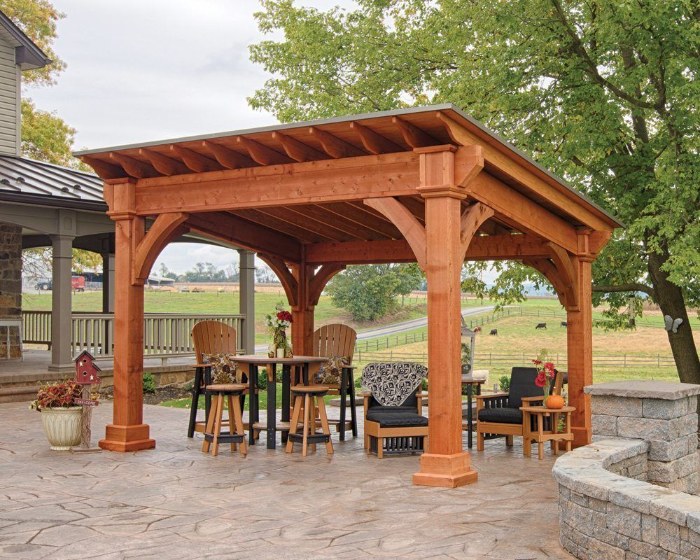 Wooden Pavilion Santa Fe Wooden Pavilion for sale at Green Acres conveniently located in Whitehall and Easton PA. Delivery and Set up to all of PA and NJ.Santa Fe Wooden Pavilion for sale at Green Acres conveniently located in Whitehall and Easton PA. Delivery and Set up to all of PA and NJ.