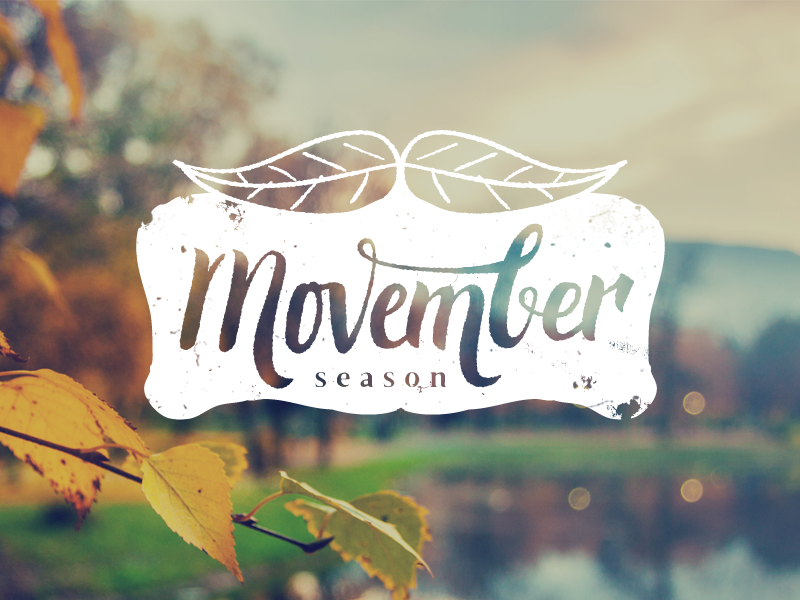 My support for Movember movement. Quick crossover lettering between November leaves and Movember moustaches ;)  Thanks to Vladimir http://www.500pxart.com/vladimirristevski for letting me use some ...