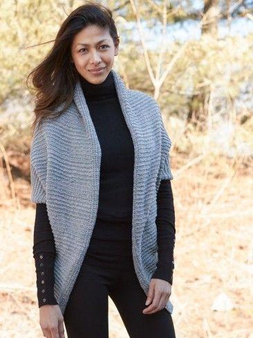Yarnspirations Patons Glam Smart Vest Patterns