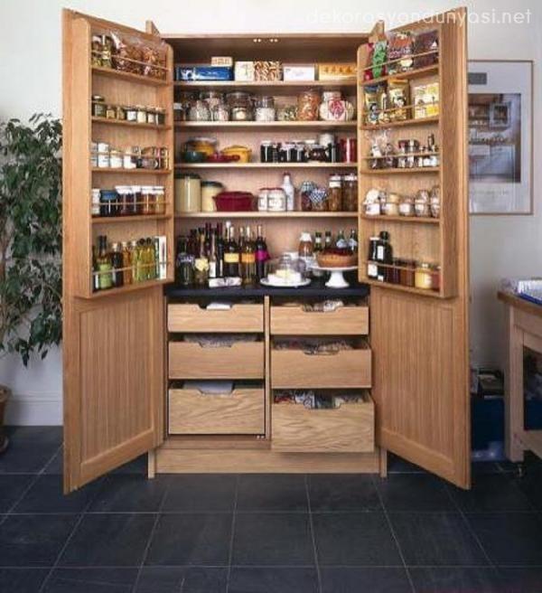 Kullanisli Mutfak Dolaplari Modelleri Mutfak Kileri Ic Tasarim