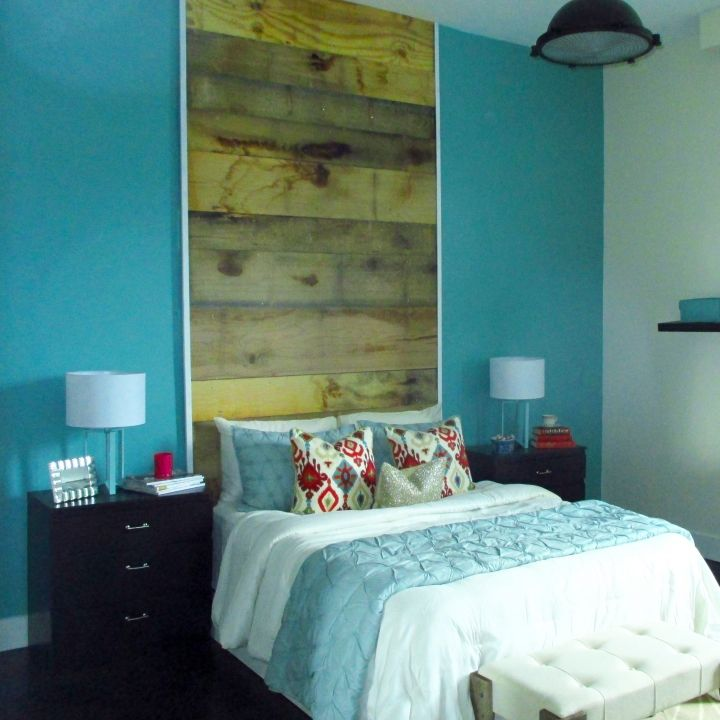 Ocean Blue Bedroom Wall: Add Hints Of Ocean Blue To Your Bedroom For A Soothing