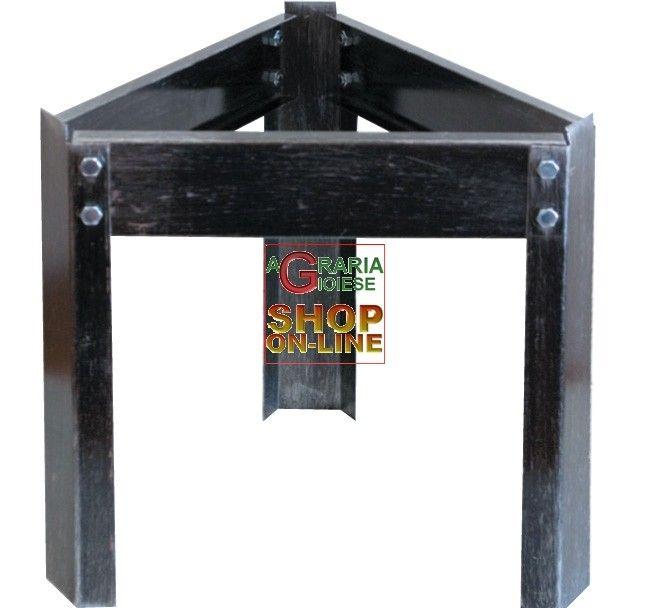 SUPPORTO TREPPIEDI PER CONTENITORE INOX BIDONE OLIO http://www.decariashop.it/contenitori-inox-accessori/15926-supporto-treppiedi-per-contenitore-inox-bidone-olio.html