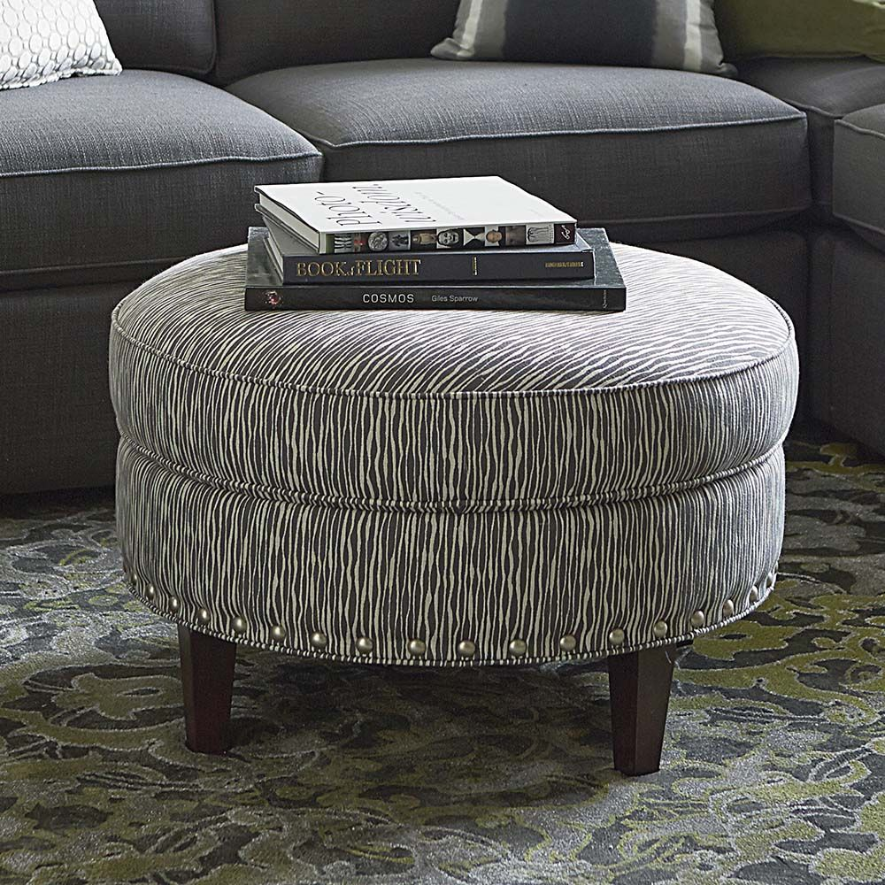 Custom Round Ottoman For Home Or Office Round Ottoman Round Ottoman Coffee Table Ottoman [ 1000 x 1000 Pixel ]