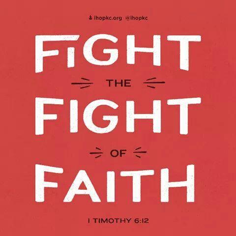 La buena batalla de la fe