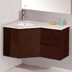 Vienna Corner Bathroom Vanity Wall Hung Corner Vanity Cabinet Corner Vanity Corner Bathroom Vanity Vanity Cabinet