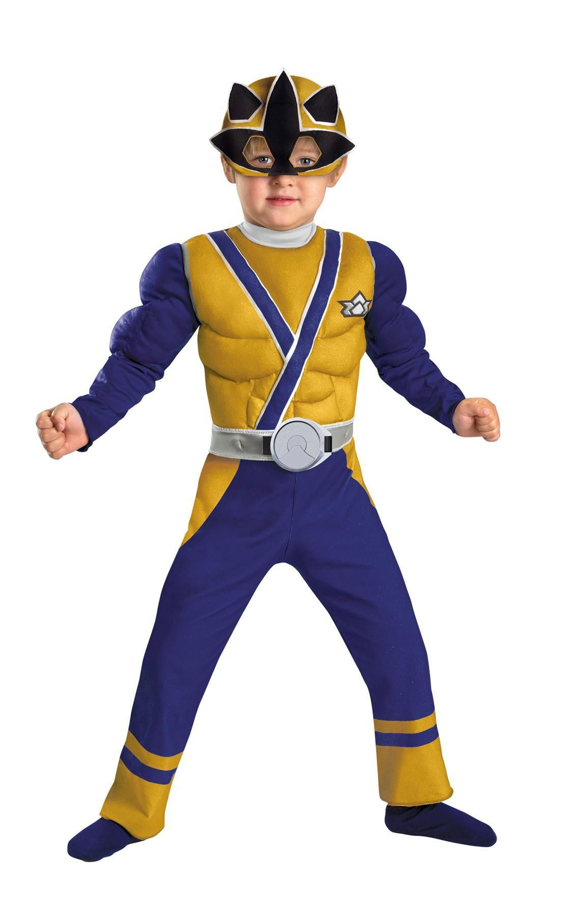 Gold Ranger Samurai Muscle 1-2