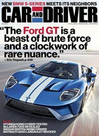 May 01 2017 Issue Of Car And Driver
