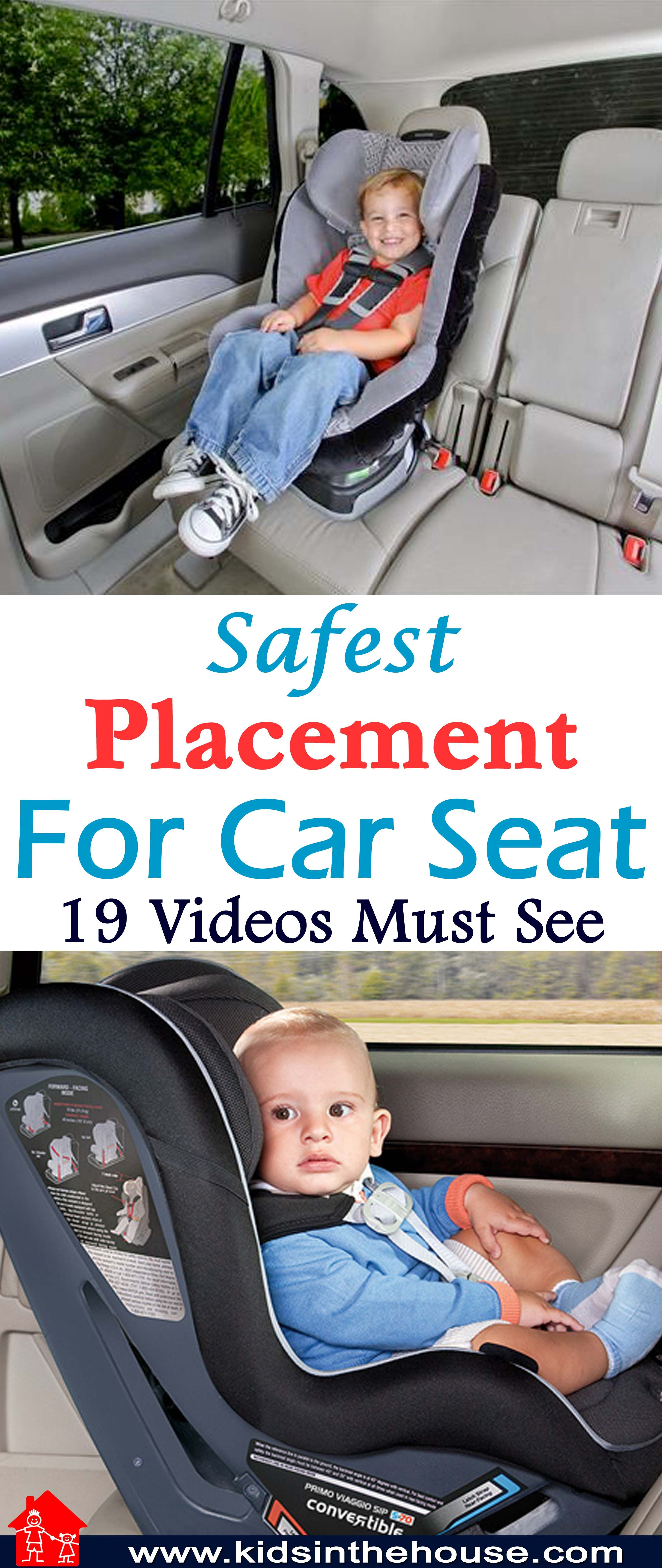 The Safest Place In Any Vehicle Is The Back Seat Center Rear So