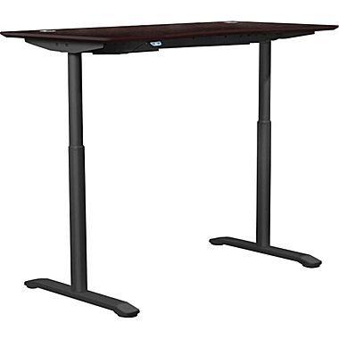 Jesper Office 75527 Electric Sit Stand Desk Espresso Electric