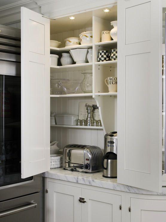 suzie st charles of new york white shaker kitchen cabinets with beadboard backsplash
