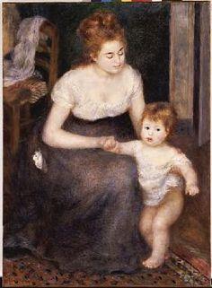 Pierre-Auguste Renoir - The First Step