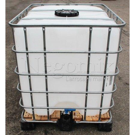Cuve citerne de 1000 Litres récupération eau pluie Projet baril de - recuperation eau de pluie maison